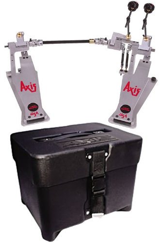 AXIS A-L2 Longboard Double-Kick Bass Drum Pedal + Case