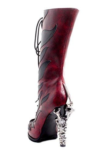 Hades Shoes, Damen Stiefel & Stiefeletten burgunderfarben