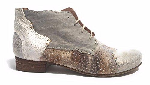 Pietra Mujer para Avorio Cordones de Clocharme Zapatos Taupe xwtqI0WBTf