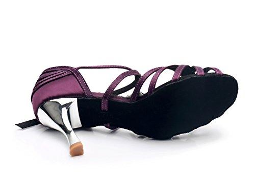 MGM Jazz 7 Mujer Joymod Y Contempóraneo Purple Heel 5cm fPv7q