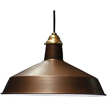 barn ceiling light ceiling fans vintage barn pendant w raw brass top cap 120v warehouse shade light