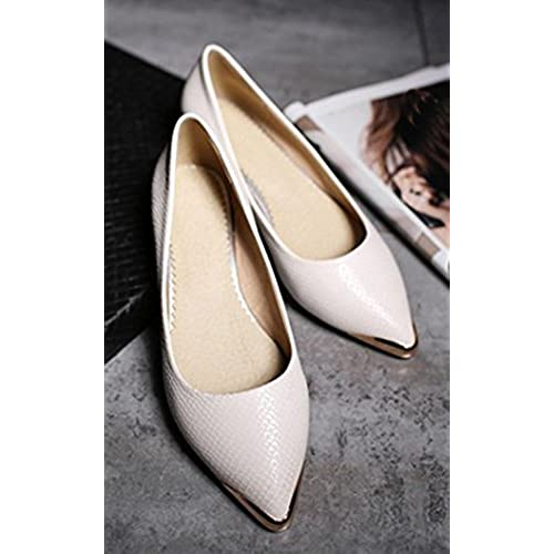 d137c9b20 new Aisun Women's Simple Low Cut Pointed Toe Professional Wear To Work  Office Dress Slip On