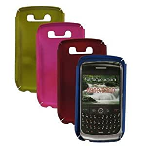 Carcasa de proteccion para Blackberry 8900/9300 Rojo -