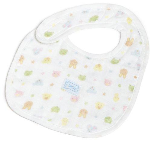 i play. Baby Newborn Organic Muslin Bib, Print, 3-12 - Play Cotton I Bib