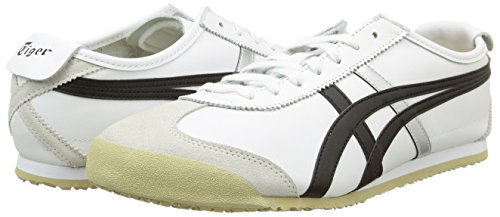 66 Bianco white black Sneakers Onitsuka Tiger Uomo 0190 Mexico qHwxEA1X