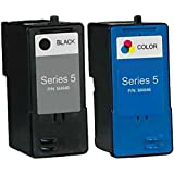 HouseOfToners Remanufactured Ink Cartridge Replacement for Dell Series 5 (1 Black & 1 Color, 2-Pack)