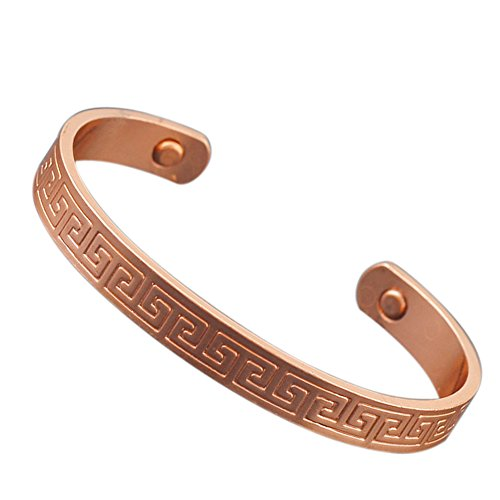 Magnetic Healing Therapy Copper Bangle Cuff Arthritis Pain Relief Bracelet