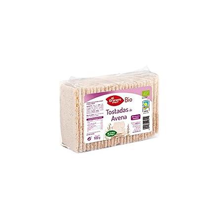 Pan El Granero Integral Tostadas De Avena Bio Envase De Plástico Flexible 100 G: Amazon.es: Alimentación y bebidas