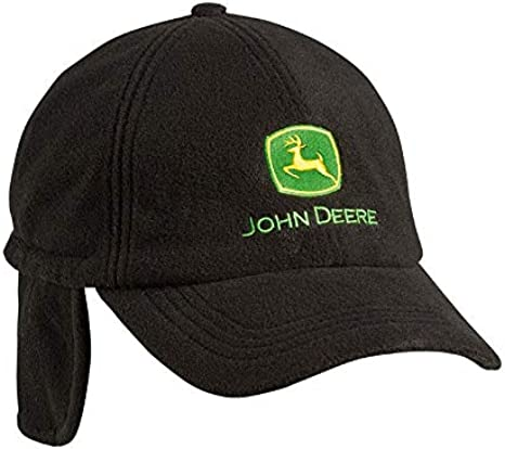 John Deere Gorra de Forro Polar Genuina de Invierno: Amazon.es ...