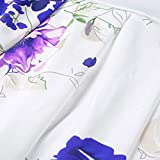 Women's Vintage Floral Dress Short Sleeve Ladies
