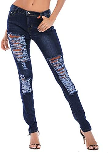 Luckycat Vaqueros Jeans Push up Vaqueros Elasticos Mujer
