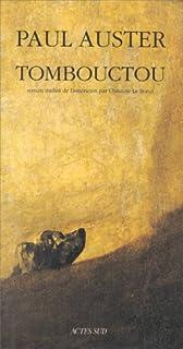 Tombouctou : roman, Auster, Paul