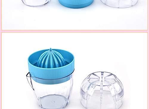 Manuel DIY Portable Presse-Agrumes Citron Orange Fruit Machine de jus de Citron Squeezer Couleur al/éatoire fgyhty