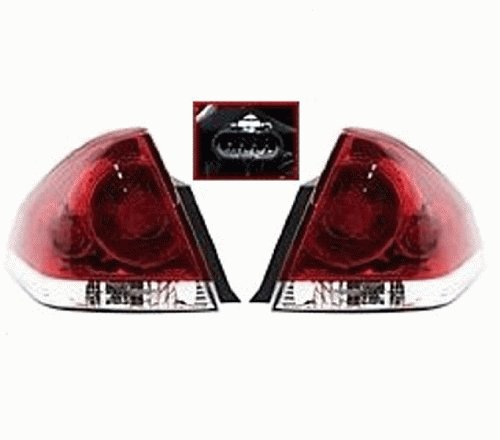 This Is A Brand New Aftermarket Passenger & Driver Side Tail Light Assembly Pair That Fits A 2012 Chevrolet Impala LS/LT/LTZ, 2006-2012 Chevrolet Impala LS/LT/LTZ/SS/50th Anniversary (Impala Ltz 2006)