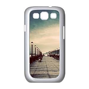 Samsung Galaxy S 3 Case, pier vintage Case for Samsung Galaxy S 3 White