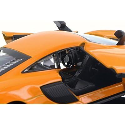 Kinsmart McLaren 675LT, Orange 5392D - 1/36 Scale Diecast Model Toy Car but NO Box: Toys & Games