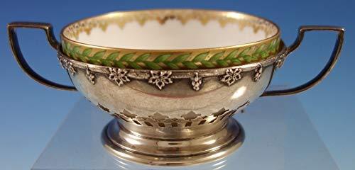 Sterling Silver Bouillon - Cloeta by Meriden Brittania Sterling Silver Bouillon Cup w/Limoges Liner #2826
