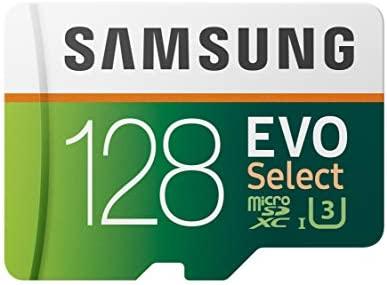 EVO Select 128GB microSDXC UHS-I U3 100MBs Full HD & 4K UHD Memory CardAdapter (MB-ME128HA) / EVO Select 128GB microSDXC UHS-I U3 100MBs Full HD & 4K UHD Memory CardAdapter (MB-ME128HA)