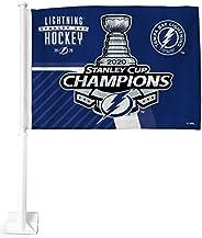 NHL unisex Car Flag, with White Pole