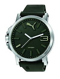 PUMA PU103461013 - Wristwatch, unisex, Plastic, Green Color