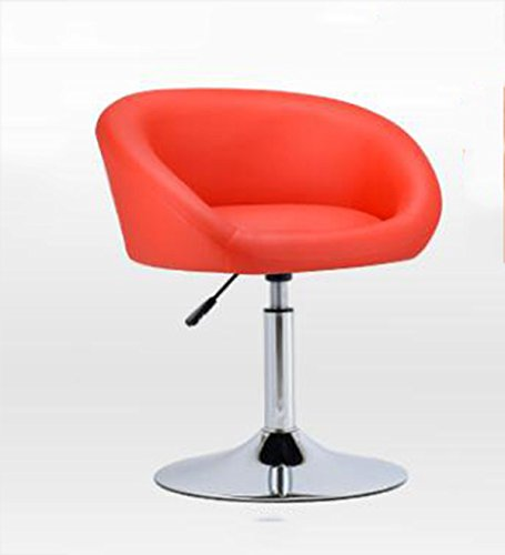 Bar chair, European style simple bar counter, bar chair, lift small chair, multi-color optional ( Color : Red ) by Xin-stool