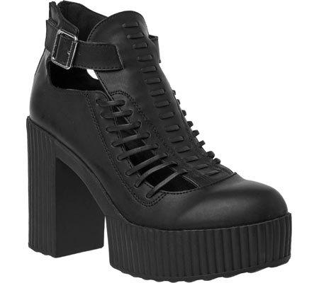 Shoes Women's k u Huarache T Sandal Black Heels Yuni taq7txf