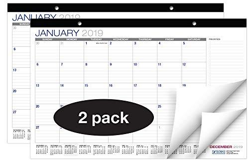 Desk Calendar 2018-2019: 11