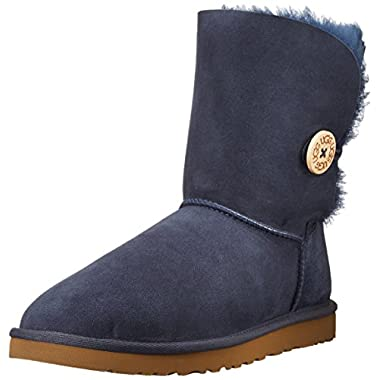 UGG Australia Women's Bailey Button Boot, Navy, 11 B(M) US