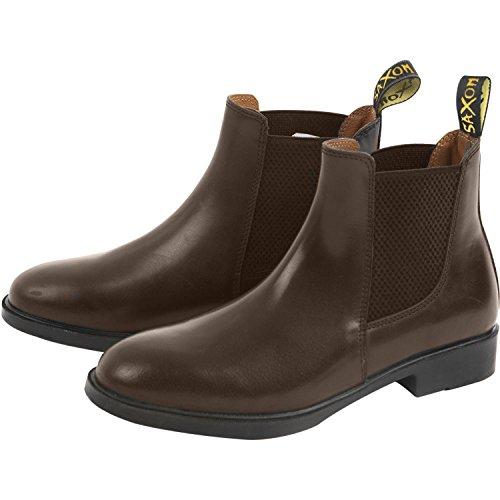 Saxon Action Kids Jodhpur Boots Brown HTSIE
