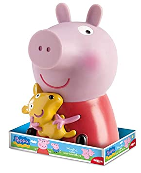 Dekora Hucha Infantil de Peppa Pig con Piruletas Color rosa 204001
