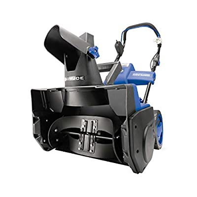 Snow Joe iON18SB-PRO Cordless Single Stage Snow Blower | 18-Inch | 5 Ah Battery | Brushless
