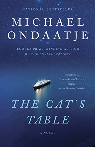 Book cover from The Cats Table (Vintage International) by Michael Ondaatje