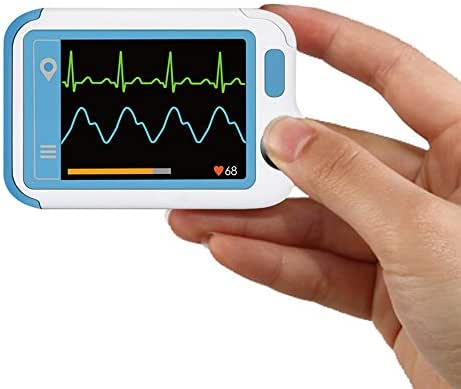 ECG/EKG Heart Health Tracker, Portable Heart Rate Monitor with PC Software, Household Heart Performance for Fitness & Sport, General Wellness Use
