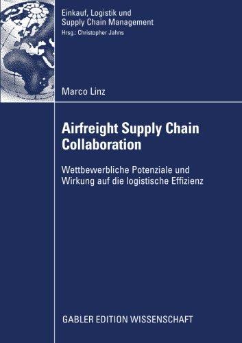 Airfreight Supply Chain Collaboration: Wettbewerbliche Potenziale und Wirkung auf die logistische Effizienz (Einkauf, Lo