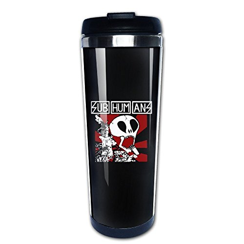 Subhumans English Anarcho-punk Band Travel Mugs Stainless Steel (Best Anarcho Punk Bands)