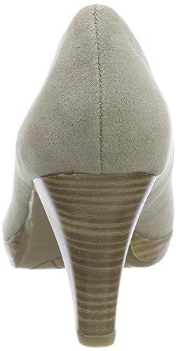 Marco Tozzi Women's 22411 Closed Toe Heels, Black, 5 UK Beige (Taupe 341)