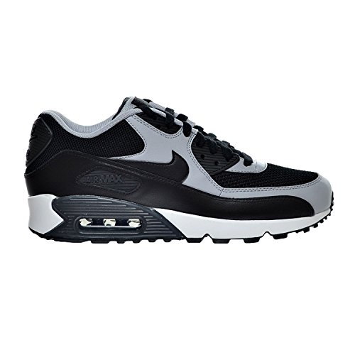 Nike Air Max 90 Essential Men's Shoes Black/Wolf Grey/Anthracite 537384-053 (10 D(M) US) (Nike Air Max 90 Leather Black Grey)