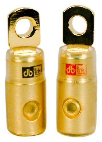 DB Link RTG4 4-Gauge Gold Ring Terminal