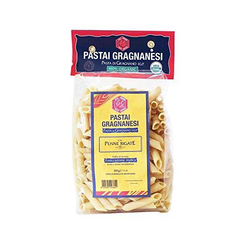 Penne Rigate Pasta di Gragnano 500 gr (Pasta Imported)