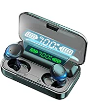 $33 » Wireless Earbuds Headphones, Bluetooth 5.0 Sport Earphones with Wireless Charging Case, IPX7 Waterproof Deep Bass Earbuds Touch Control, Built-in Dual-Mic 3D Stereo Noise Canceling Headsets