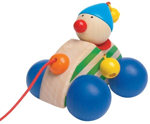 Selecta Autolino Wooden Pull Toy