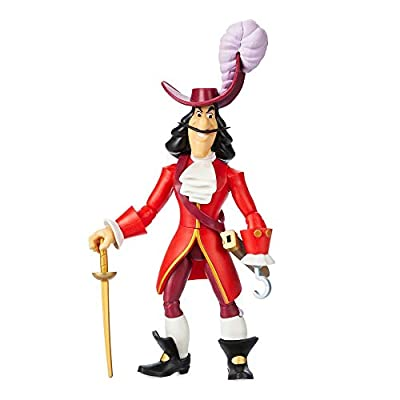 Disney Captain Hook Action Figure by Toybox – Peter Pan: Toys & Games