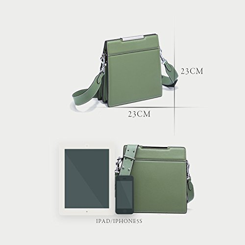 Bags Women's Square Fashion Green Cross Shoulder Small Bags Bag Casual Messenger Body Travel grwEZgq