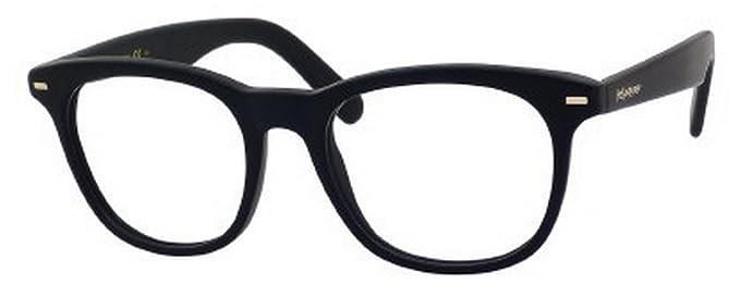 983349f4ab5 Image Unavailable. Image not available for. Colour  Yves Saint Laurent  Men s 2359 Matte Black Frame Plastic Eyeglasses