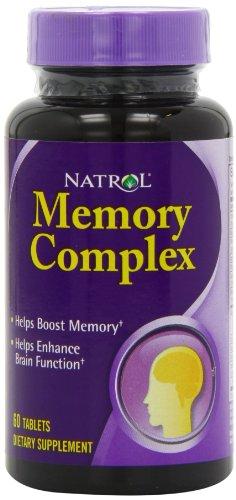 Natrol Memory Complex Tablets Count