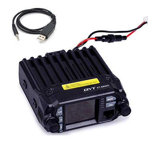 - QYT KT-8900D (Upgraded 2nd Gen.) Mobile Transceiver Dual Band Quad Standby VHF/UHF 136-174/400-480MHz Mini Car Radio Amateur (HAM) Radio W/Free Cable