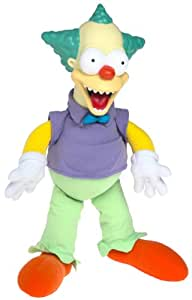 Bart Simpson's * GOOD / EVIL * KRUSTY THE CLOWN Talking Doll as seen in The Simpsons Treehouse of Horror Episode