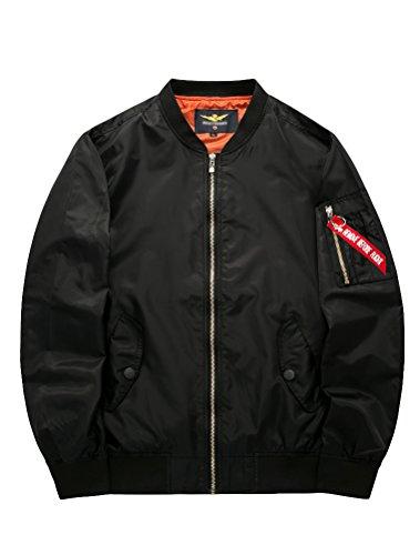 black Hombre para Abrigo Chaqueta MatchLife Style3 q6xT4zyc