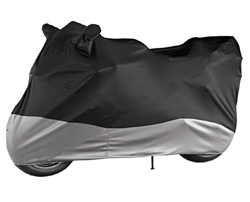 Motorcycle Cover HEAVEY DUTY - 100% Waterproof - Fits cruiser, Tourer, Chopper Motors up to 104