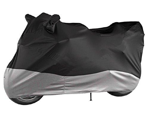 Motorcycle Cover HEAVEY DUTY - 100% Waterproof - Fits cruiser, Tourer, Chopper (Chopper Buckle)